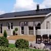 Проект каркасного дома 115-13