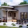 Проект каркасного дома 126-13