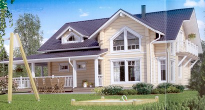 Проект каркасного дома 228-5