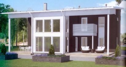 Проект каркасного дома 228-8