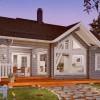 Проект каркасного дома 70-11