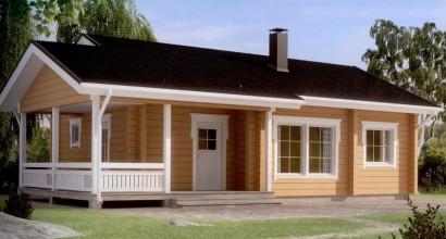 Проект каркасного дома 72-14