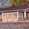 Проект каркасного дома 80-11