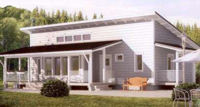 Проект каркасного дома 84-14