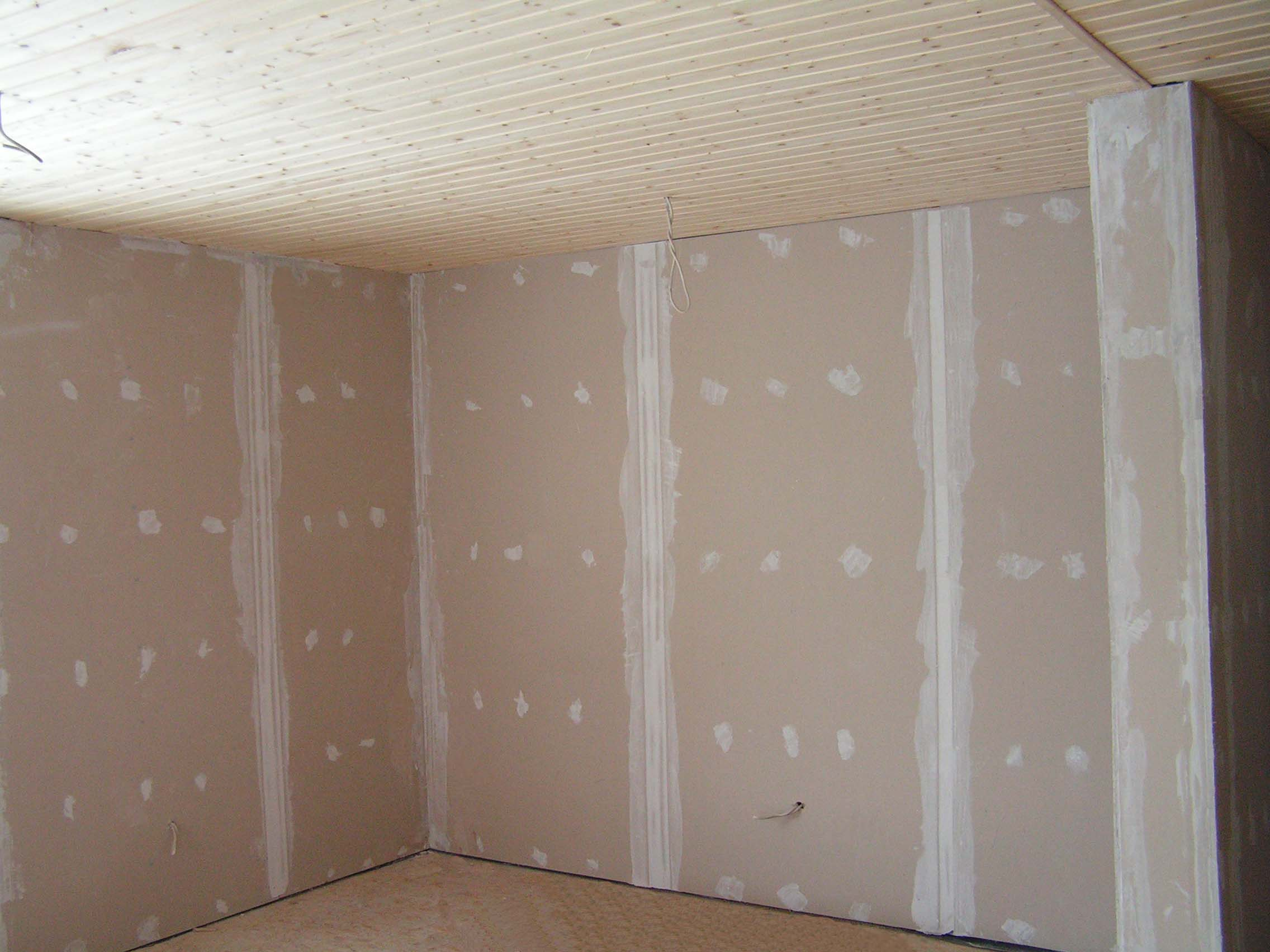 Стены с гипрока своими руками видео